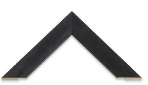 Narrow Grain Black Picture Frame